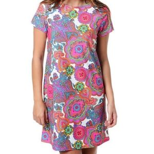 XL Jude Connally Paisley Print Ella Dress